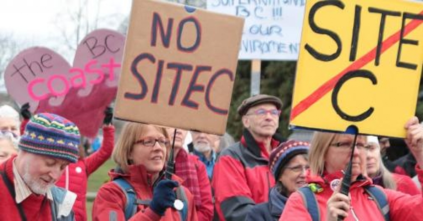 Site C approval: why can't we think outside the neoliberal box?