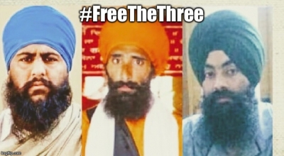 "Surrey Gurdwara holds congregation for three Sikh men convicted for merely keeping ""seditious"" literature in India"