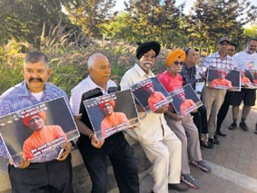 Rally against attack on Agnivesh held in Surrey