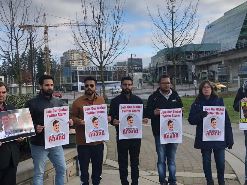Rally for Teltumbde and other activists held in Canada