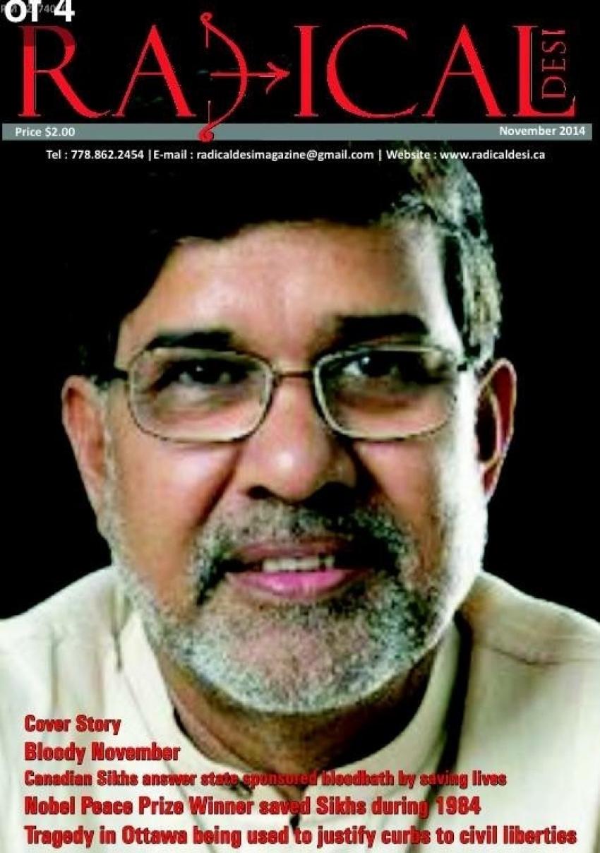 Satyarthi should be stripped of Nobel peace prize for glorifying Hindu supremacy