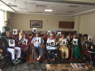 Seniors with disabilities in Canada join Free Saibaba campaign