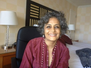 We wish Arundhati Roy a long life on her birthday to continue leading us through these dark times
