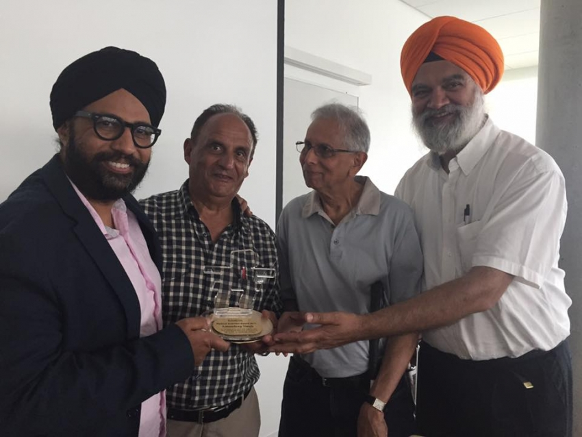 Lawyer who drafted petition for Saibaba honoured