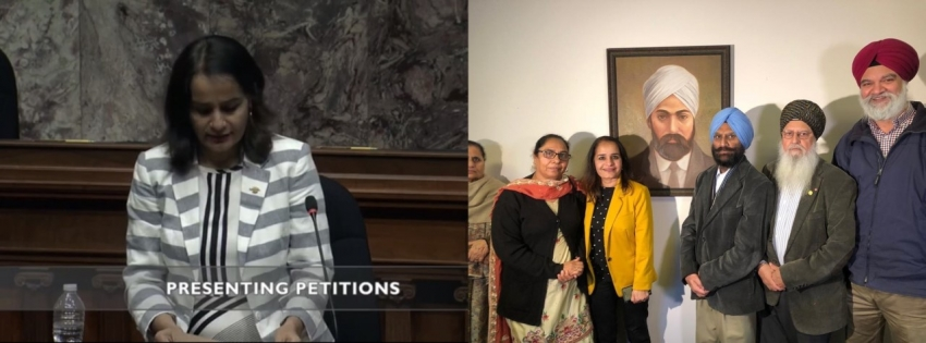 Petition for the exoneration of Mewa Singh presented in BC Legislature