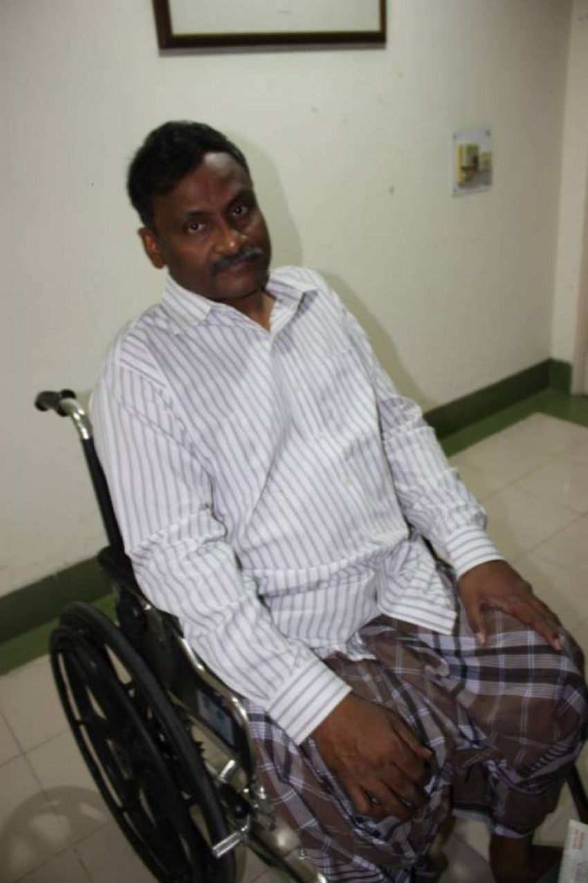 Modi's message of combating epidemic with compassion sounds hypocritical as his government refuses to release jailed disabled scholar