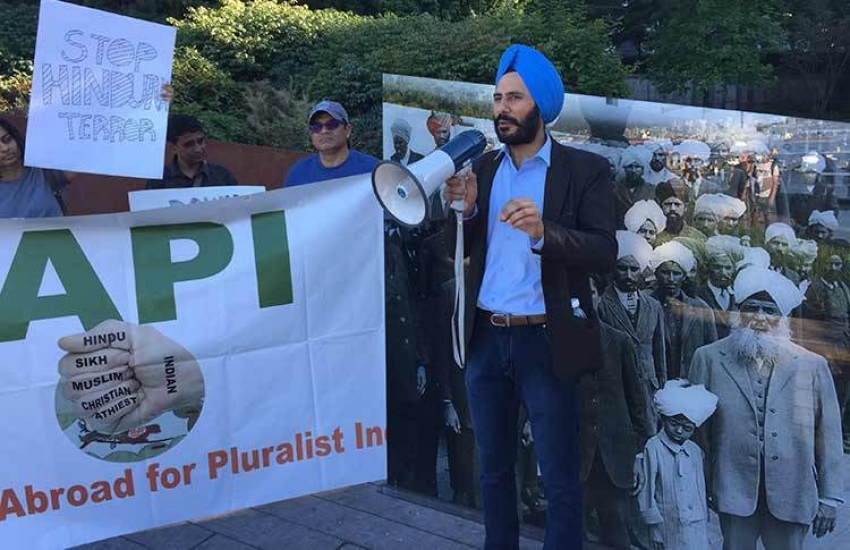 Walk for pluralist India held in Vancouver