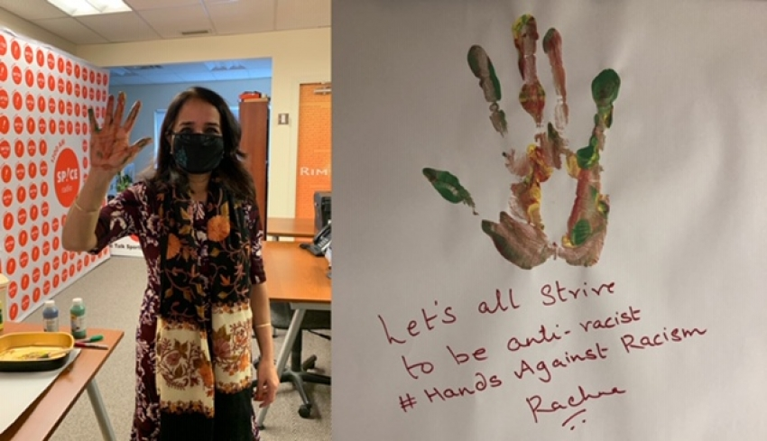 Seventh annual Hands Against Racism campaign launched